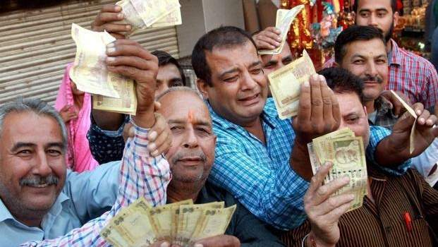 India's cash recall: A note of caution