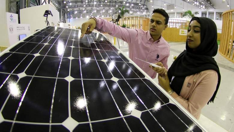Sharjah students' brainwave: Solar panels that move with the sun