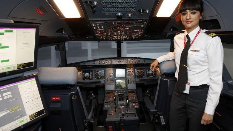 Emirati high-flyer cracks the glass ceiling