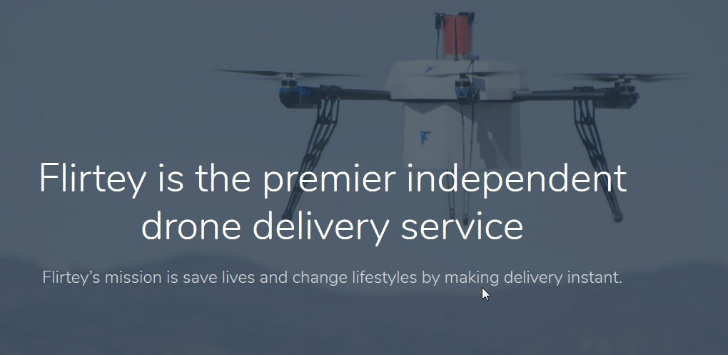 Convenience shop items delivered by drone in US