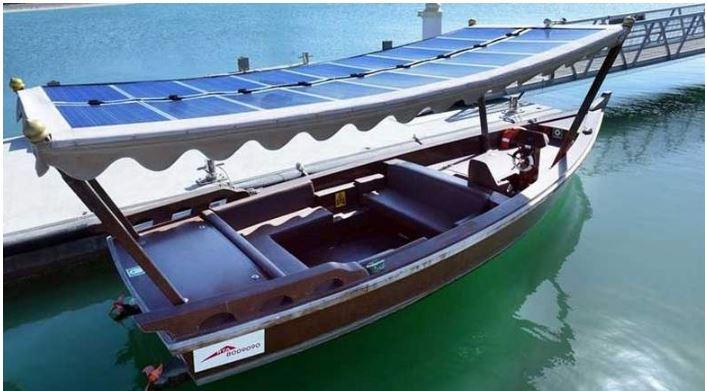 Dubai launches region's first solar-powered abra