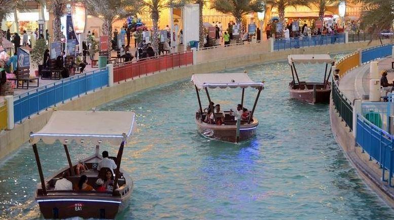 Electric abras serve visitors at Dubai's Global Village