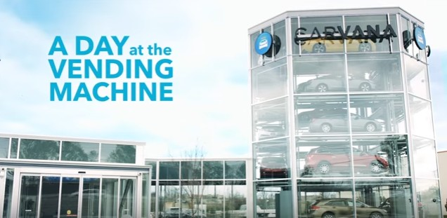 Will car vending machine upend used car sales?