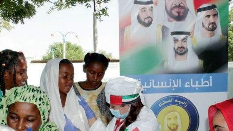 Abu Dhabi to set up world's first mobile 'charity city'