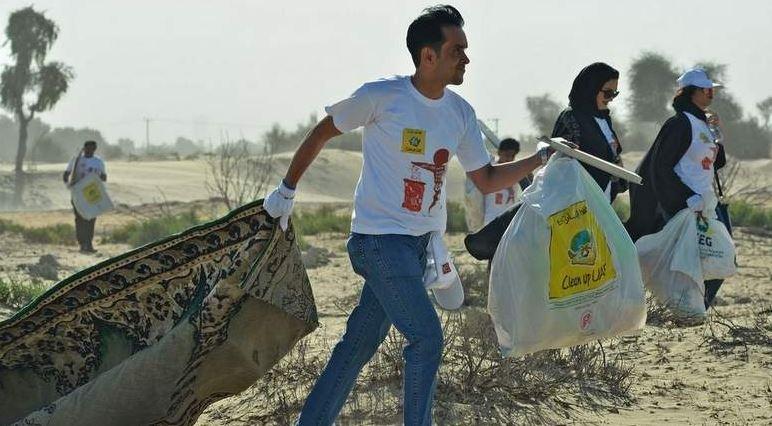 More than 6,000 participants Clean Up UAE