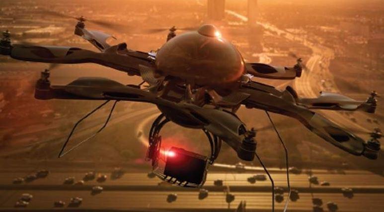 Drones to monitor Dubai roads in 2017