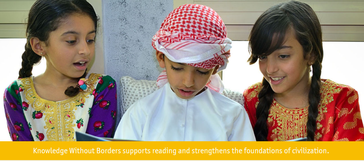 Knowledge Without Borders calls on Sharjah's Emirati families to receive free books for home libraries