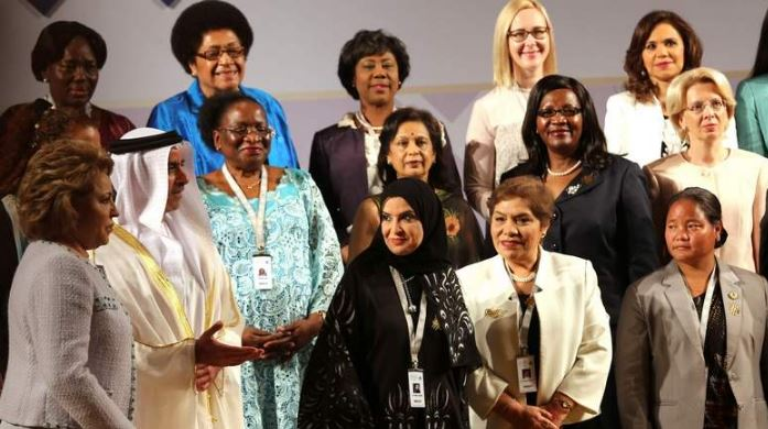 Women in parliament can help shape peaceful future: Al Qubaisi