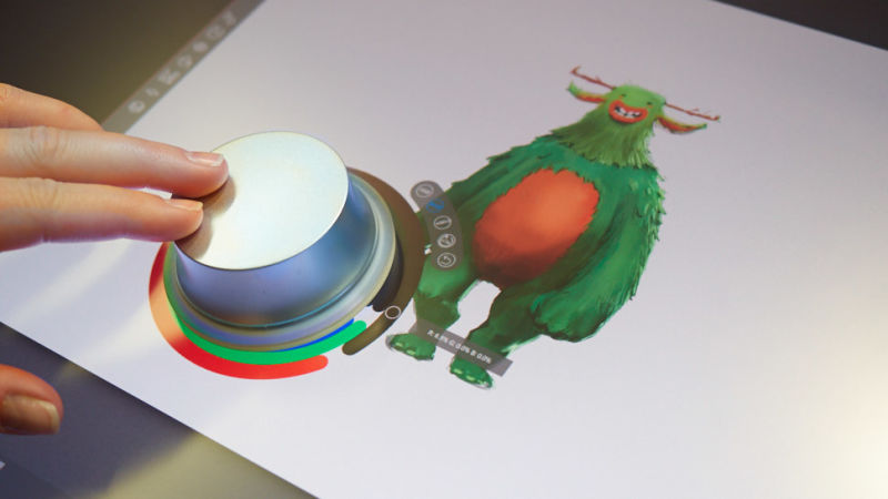 Dell's new way to create with 'Canvas'