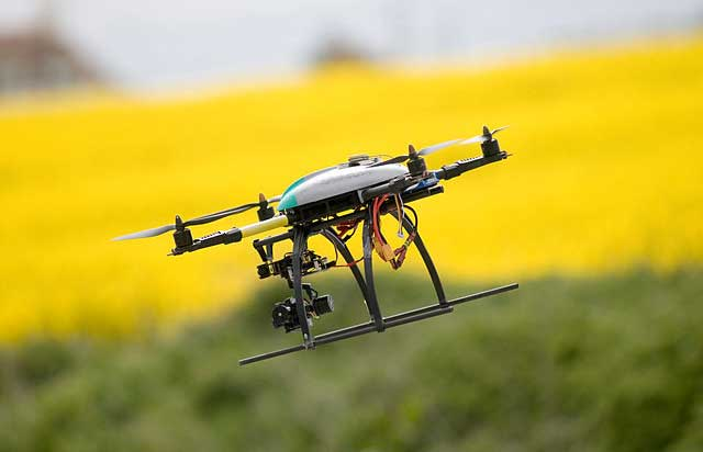 Dog fight: Start-ups take aim at errant drones