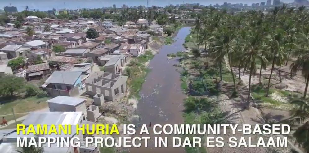 Drones help communities map flood risk in Dar es Salaam slums