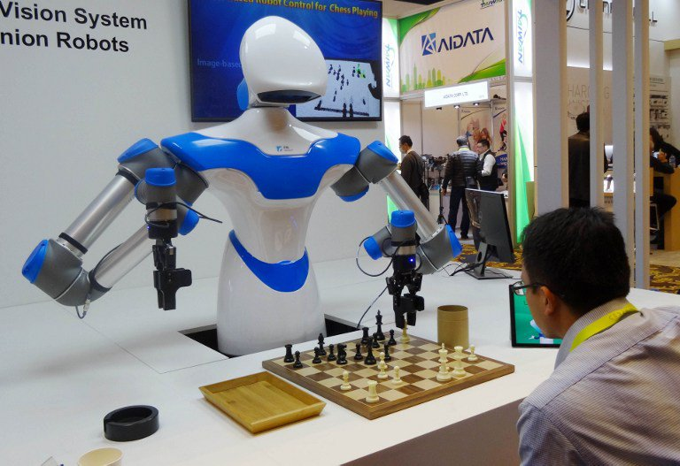 For 'intelligent' robot, chess is just a hobby
