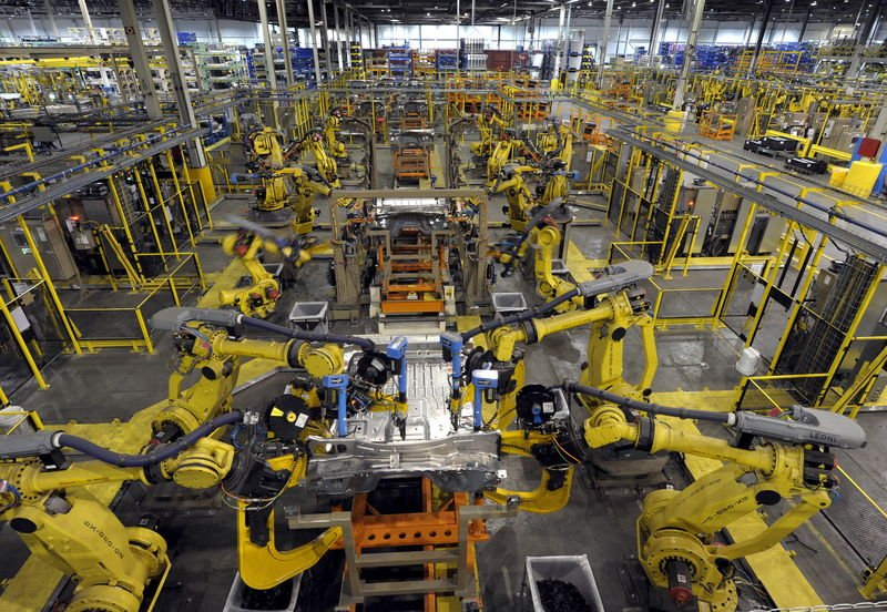Image result for robot arms factory photo