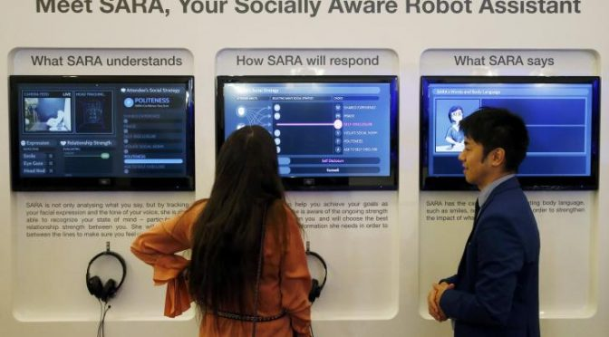 Impact of job-stealing robots a growing concern at Davos