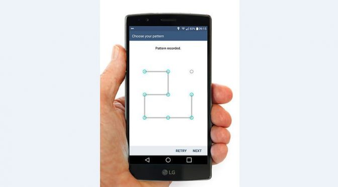 Just 5 attempts can open Android pattern lock
