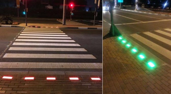 Smart pedestrian signal to ensure safe crossing
