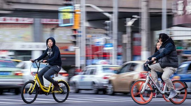 Pedal power revival as bike-share apps race for glory