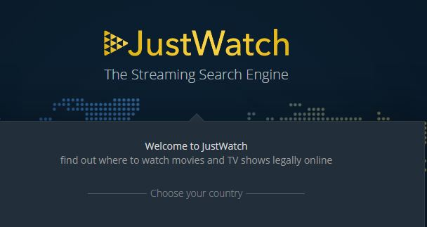 JustWatch can help you find where to legally watch movies
