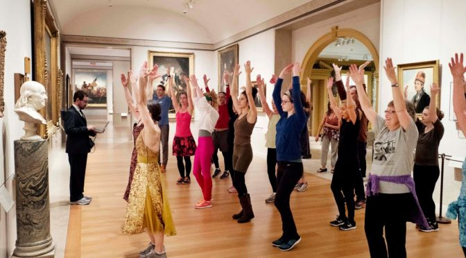 NY's Met Museum offers exercise amid world-class art