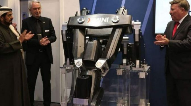 UAE to export its portable robotic tool