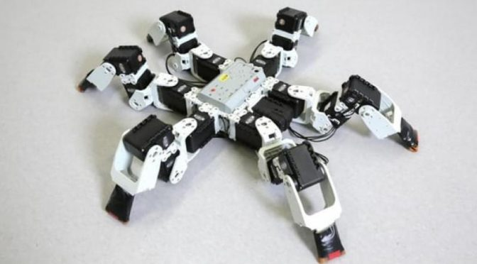 Researchers find how six-legged robots can run faster
