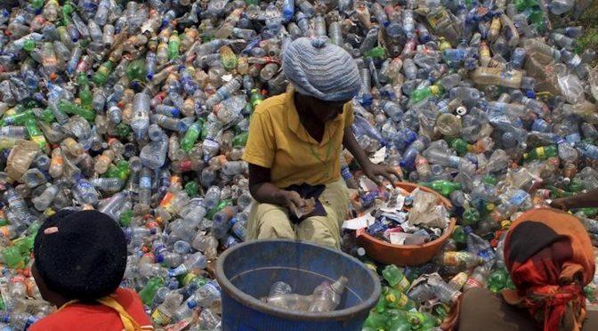 "Tanzanian start-up turns urban waste into ""plastic lumber"""