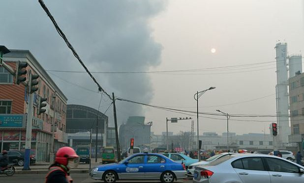 Climate change 'makes deadly China pollution worse'