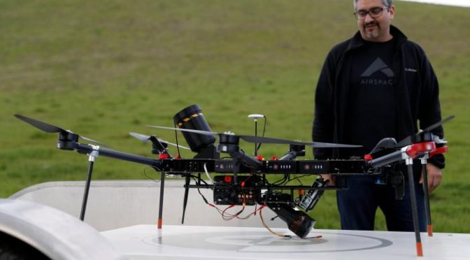 Drone-catchers emerge on a new aerial frontier