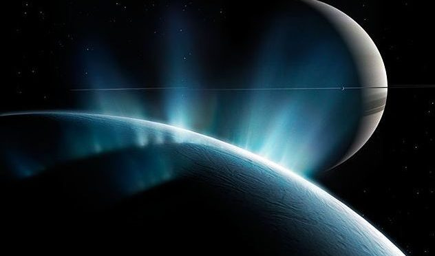 Saturn's moon Enceladus may have water closer to surface