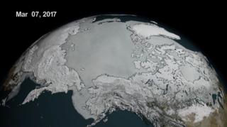 Sea ice hits new record low at both poles