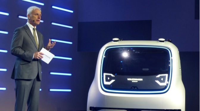 Eyeing future after problematic past, VW showcases 'Sedric'