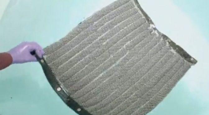 Scientists tweak seat cushion material to clean oil spills