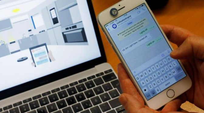 Smart condo conundrum: Talk to appliances, or text them?