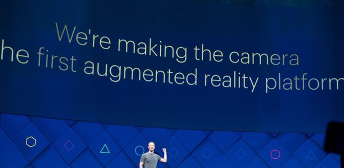 Facebook CEO wants to augment your reality