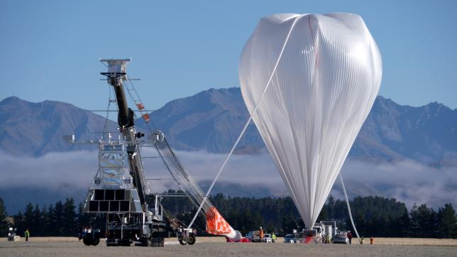 Eighth time lucky: NASA launches super balloon to collect near space data