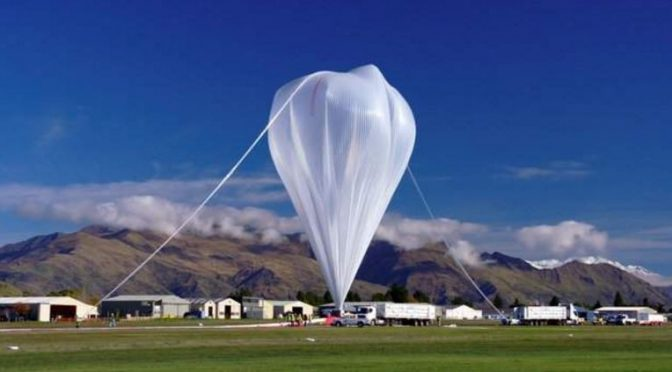 Nasa to launch football stadium sized balloon in search for cosmic rays