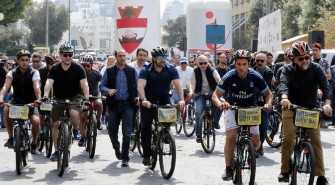 Bike-sharing launched in congested Beirut