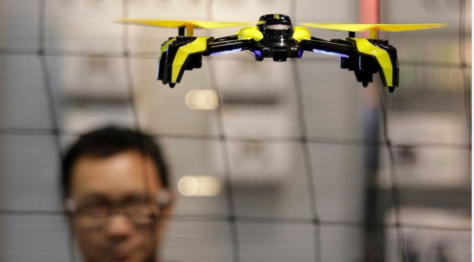 Manufacturer: Drones should transmit identifier for security