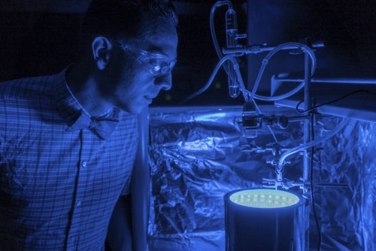 Artificial photosynthesis turns carbon dioxide into clean air