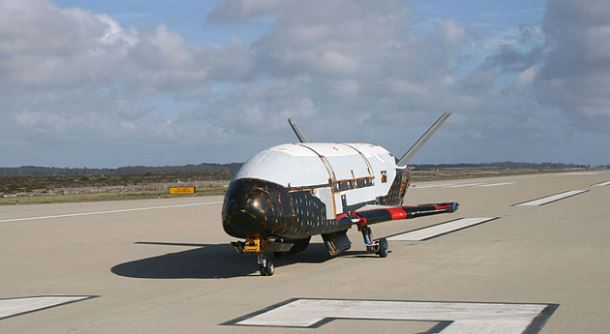 US space plane completes two-year secret mission