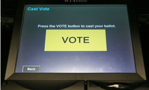 Virginia to do away with paperless electronic voting machines