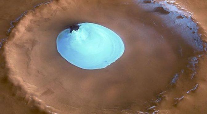 Scientists spot massive ice deposits on Mars
